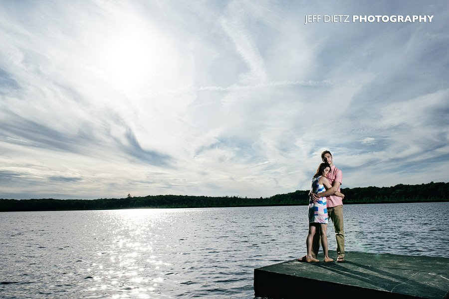 Forest Lake Club Engagement Session! – Rowland, PA