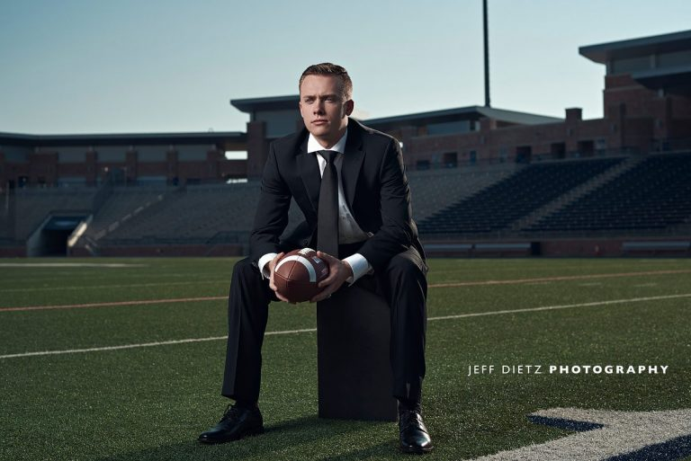 Zach's Senior Sports Fashion Photos – Allen TX Football