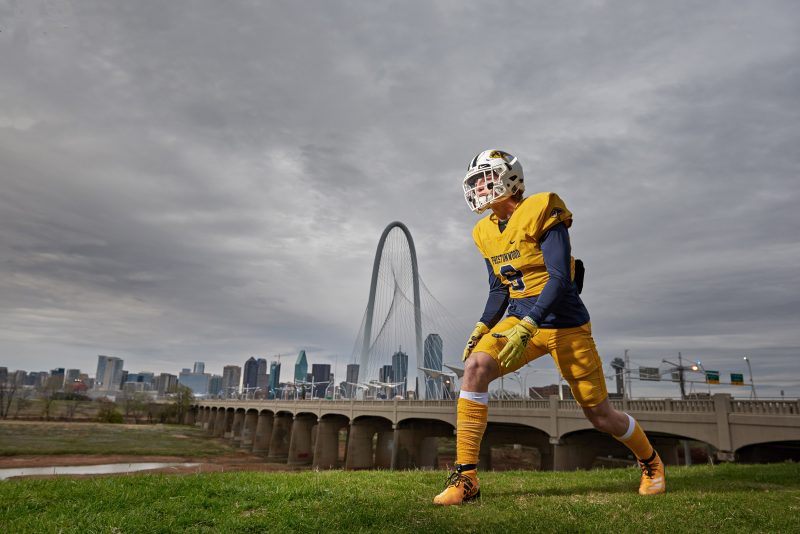 prestonwood christian academy senior pictures of football player