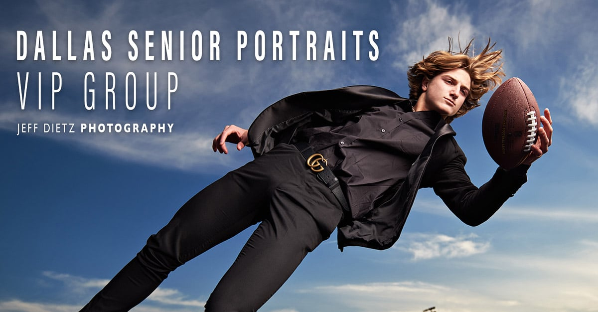 dallas senior portraits vip facebook group